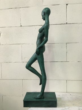 Art modern style Bronze sculpture in bronze 20th Century